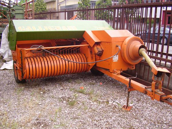 Pressa raccoglitrice gallignani mulino elettrico per for Vendita presse usate